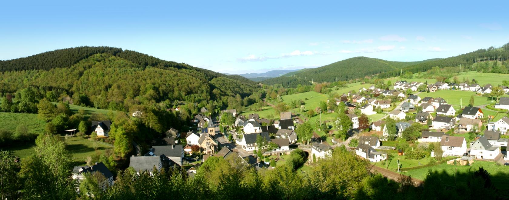 Panorama-Aufnahme Benolpe (Frühling 2013)