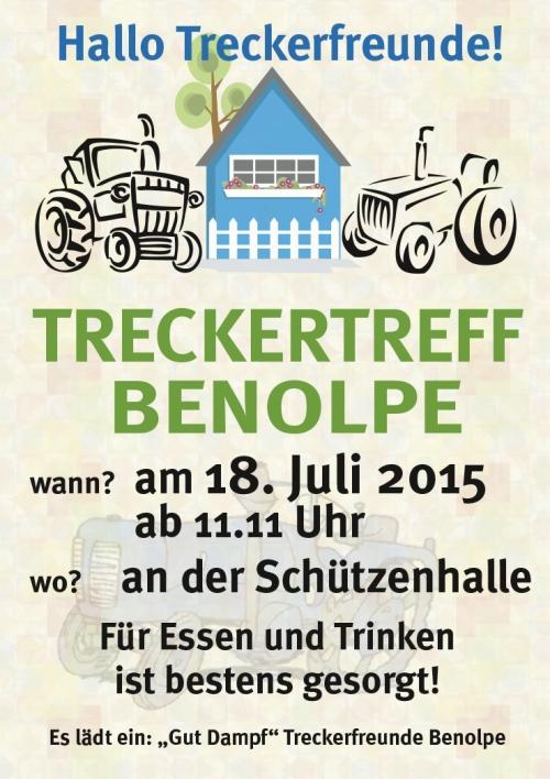 Plakat Treckertreff 2015