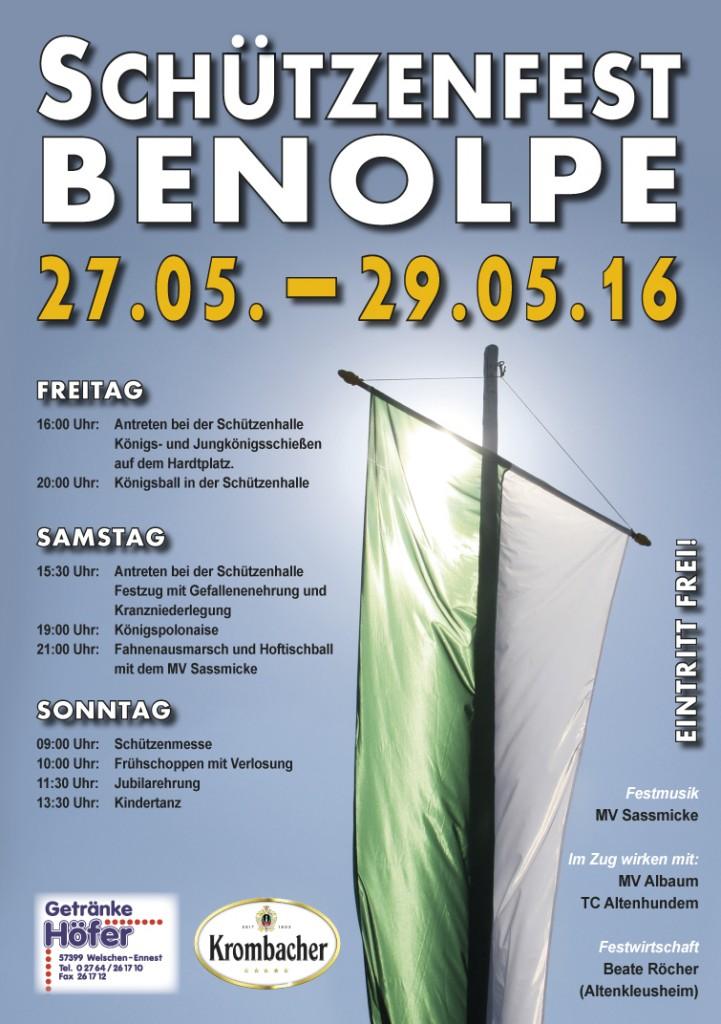 SchützenfestBenolpe_2016_PlakatA2.indd