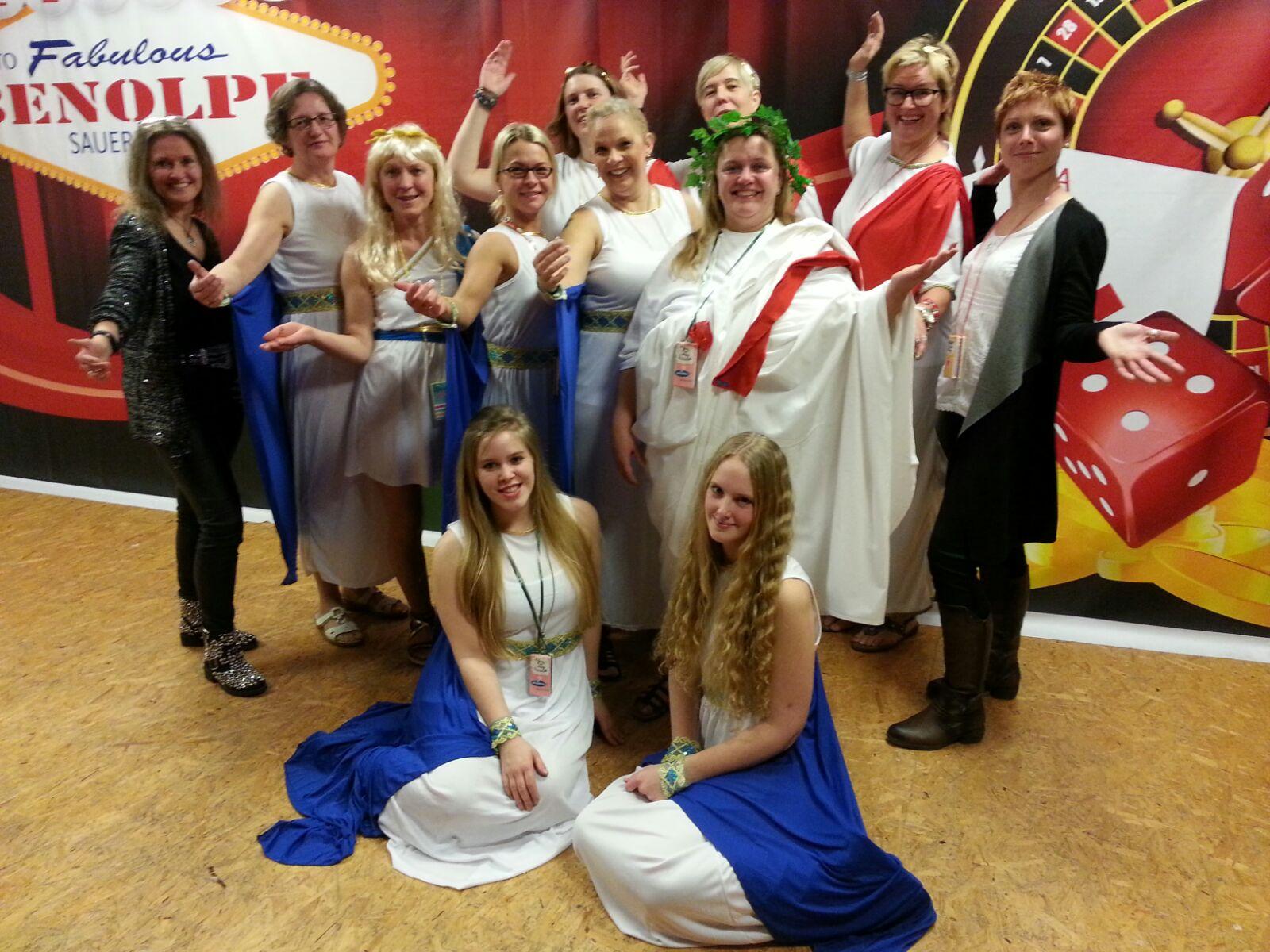 Theatergruppe der Frauengemeinschaft Benolpe