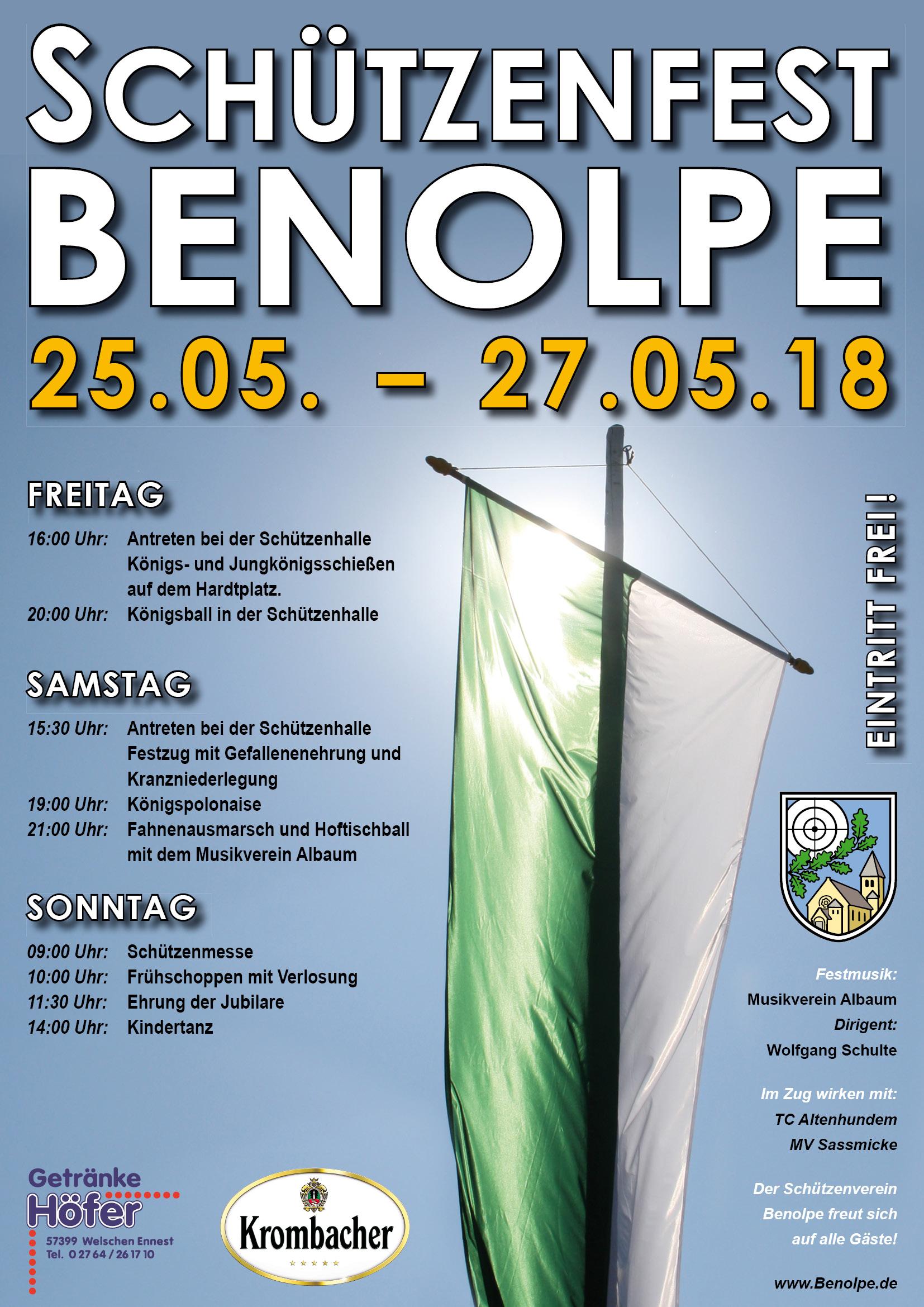 Schützenfest Benolpe 2018